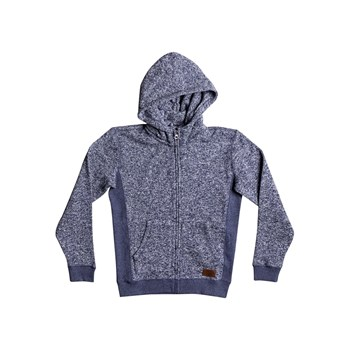 Quiksilver - Keller zip youth - Sweat à capuche - bleu