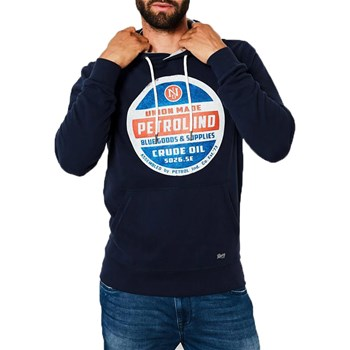Petrol Industries - Sweater swh300 - Sweat à capuche - bleu marine