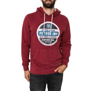 Petrol Industries - Sweater swh300 - Sweat à capuche - rouge