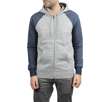 Element - Meridian block zh - Sweat à capuche - gris