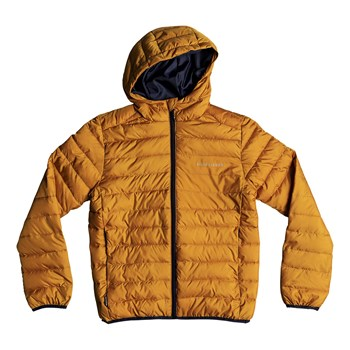 Quiksilver - Scaly youth - Blouson - jaune