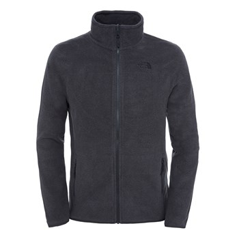 The North Face - 100 glacier full zip - Polaire - gris