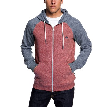 Quiksilver - Everyday zip - Sweat à capuche - bordeaux