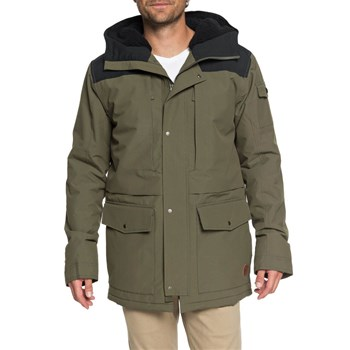 Quiksilver - Canyon jacket - Manteau - kaki