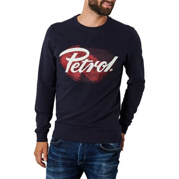Petrol Industries - Sweater swr312 - Sweat-shirt - bleu marine