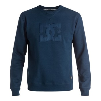 DC Shoes - Ellis crew boy - Sweat-shirt - bleu marine
