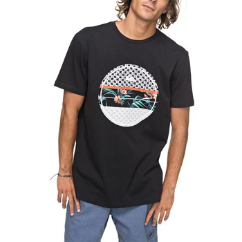 Quiksilver - Shadow dry reefs - T-shirt manches courtes - noir