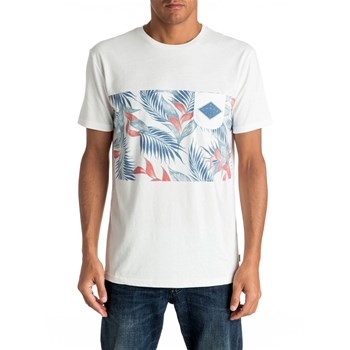 Quiksilver - Faded time - T-shirt manches courtes - blanc