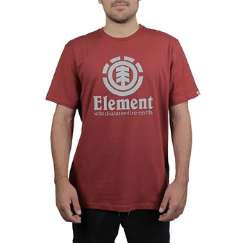 Element - Vertical ss - T-shirt manches courtes - rouge
