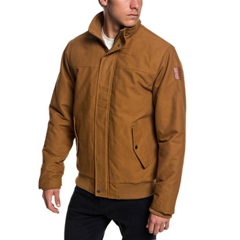 Quiksilver - Brooks full zip - Blouson - marron