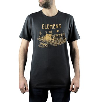 Element - River dreams ss - T-shirt manches courtes - noir