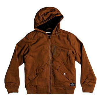Quiksilver - Hana go youth - Blouson - marron