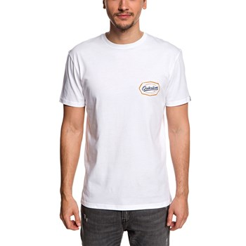 Quiksilver - Live on the edge ss - T-shirt manches courtes - blanc