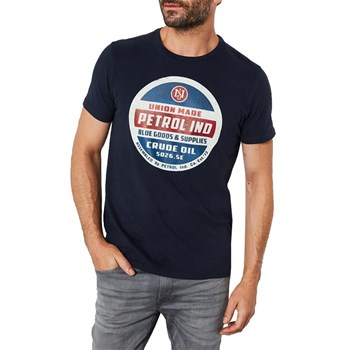 Petrol Industries - T-shirt ss tsr607 - T-shirt manches courtes - bleu marine