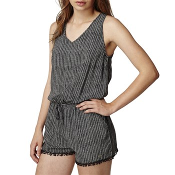 O'Neill - Strappy playsuit - Robe droite - noir