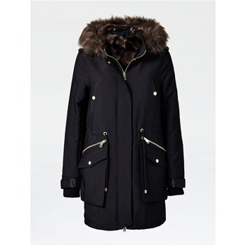 Guess - Parka grandes poches frontales - noir