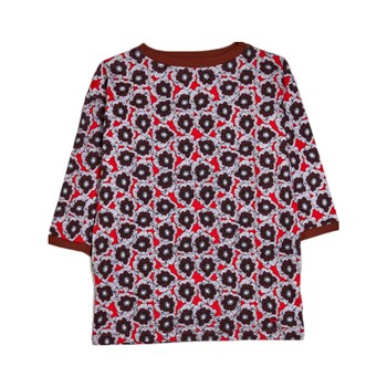 Sonia Rykiel - Robe T-Shirt - bordeaux