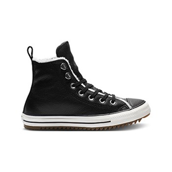Converse - Chuck Taylor All Star - High Sneakers aus Leder - schwarz
