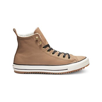 Converse - Chuck Taylor All Star - High Sneakers aus Leder - haselnuss