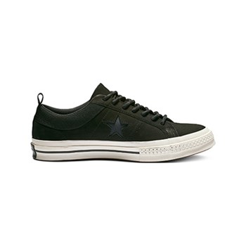 Converse - One Star Ox - Ledersneakers - schwarz