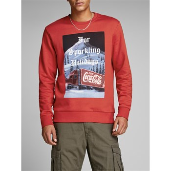Jack & Jones - Jorsanta - Sweat-shirt - rouge