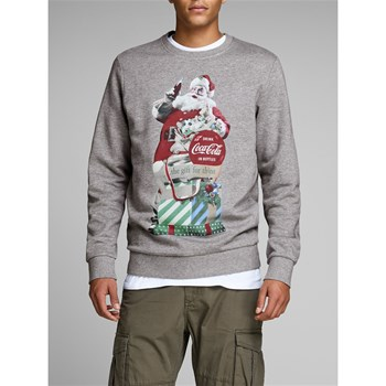 Jack & Jones - Jorsanta - Sweat-shirt - gris clair