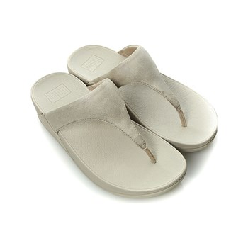 Cartago - SHIMMY SUEDE TOE-POST - 308-Pale Gold (C - Chanclas - dorado