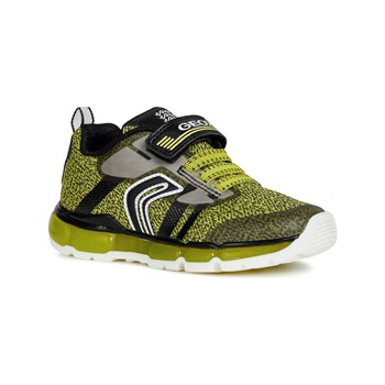 Geox - Android - Low Sneakers - limettenfarben