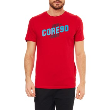 Jack & Jones - Kurzärmeliges T-Shirt - rot