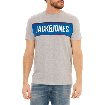 Jack & Jones - Kurzärmeliges T-Shirt - hellgrau