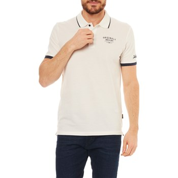 Jack & Jones - Polo manches courtes - bianco