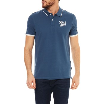 Jack & Jones - Polo manches courtes - blu slavato