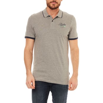 Jack & Jones - Polo manches courtes - lichtgrijs