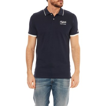 Jack & Jones - Polo manches courtes - blu