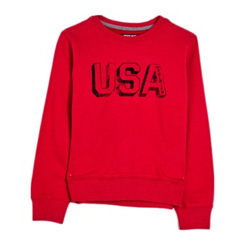 Woolrich - Sweat-shirt - rouge