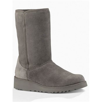 Ugg - Bottines en cuir - gris