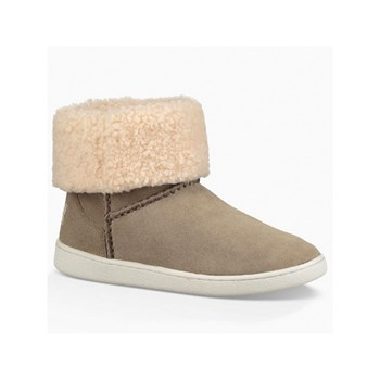 Ugg - Bottines en cuir - gris clair