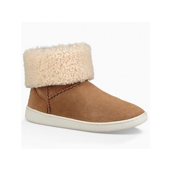 Ugg - Bottines en cuir - camel
