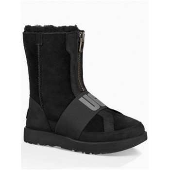 Ugg - Bottines en cuir - noir