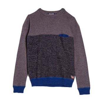 Woolrich - Pull 20% laine - gris