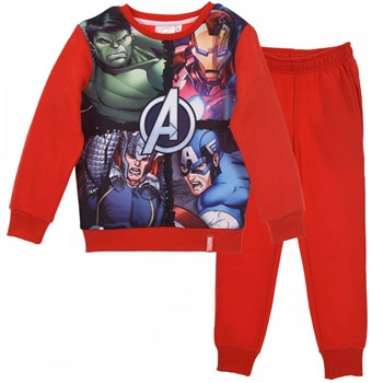 Avengers - Ensemble enfant - rouge