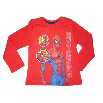 Spiderman - T-shirt manches longues - rouge