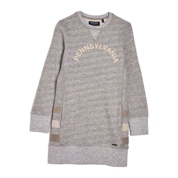 Woolrich - Robe sweat - gris