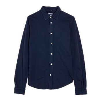 Woolrich - Chemise manches longues - bleu marine