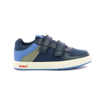 Kickers - Gready Low - Ledersneakers - marineblau