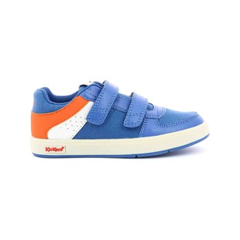 Kickers - Gready Low - Ledersneakers - blau