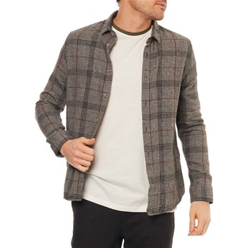 Only & sons - Chemise manches longues - gris chiné