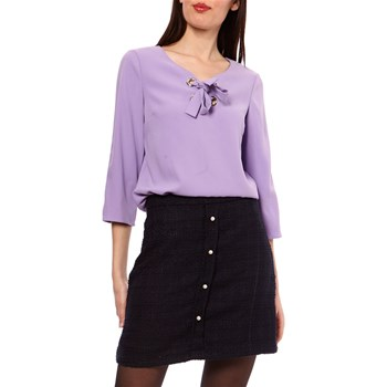 1.2.3 - Domino - Blouse - lilas