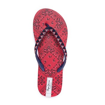 Pepe Jeans Footwear - Rake Virgi - Tongs - rouge