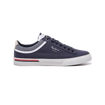 3fea33b3d11 Pepe Jeans Footwear North Court - Baskets basses - bleu